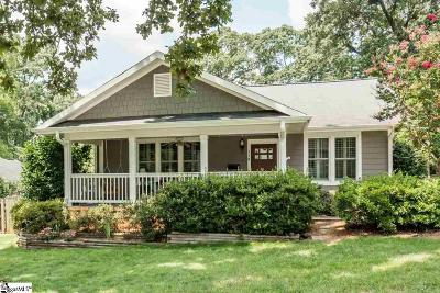 Greenville Single Family Home For Sale: 114 Aberdeen