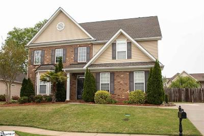 Simpsonville Single Family Home For Sale: 100 Red Rome