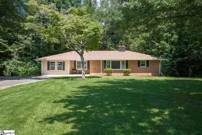 Travelers Rest Single Family Home For Sale: 342 Ledbetter