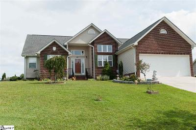 Greenville Single Family Home For Sale: 411 Winding Brook