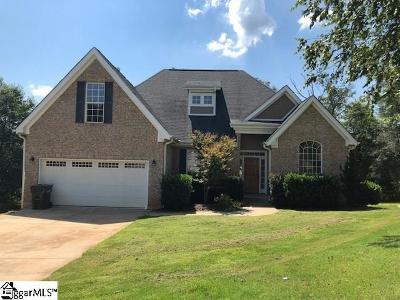 Greer Single Family Home For Sale: 618 Garden Rose