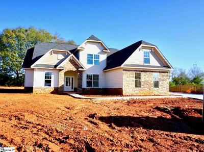 Simpsonville Single Family Home For Sale: 204 Walnut Hill #Homesite