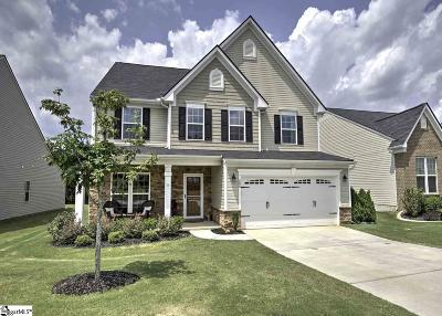 Simpsonville Single Family Home For Sale: 200 Chestatee