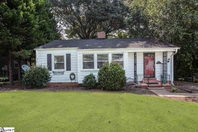Greenville Single Family Home For Sale: 9 Rutledge