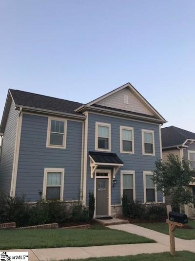 Greer Single Family Home For Sale: 101 Meritage
