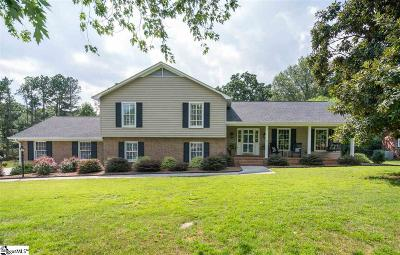Greer Single Family Home Contingency Contract: 106 Sugar Creek