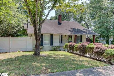 Easley Single Family Home For Sale: 308 E A