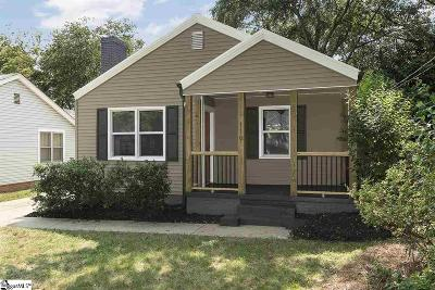 Greenville Single Family Home For Sale: 119 Bleckley
