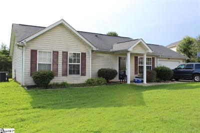 Piedmont SC Single Family Home For Sale: $135,000