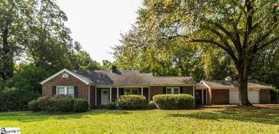 Easley Single Family Home For Sale: 2120 Saluda Dam