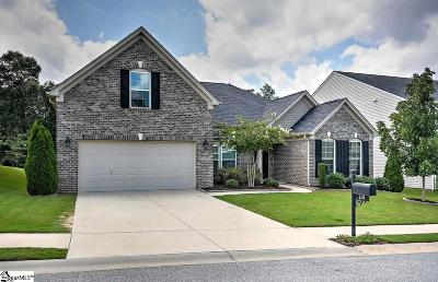 Simpsonville Single Family Home For Sale: 201 Chapel Hill