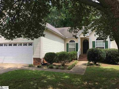 Mauldin Single Family Home For Sale: 114 Golden Crest