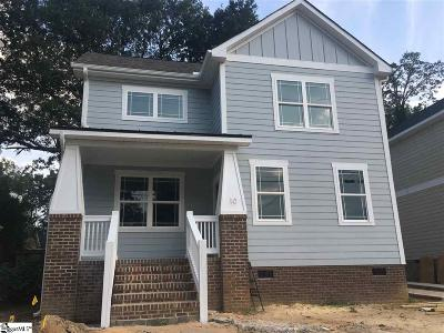 Greenville Single Family Home For Sale: 10 Stall