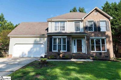 Greenville Single Family Home For Sale: 403 Junaluska