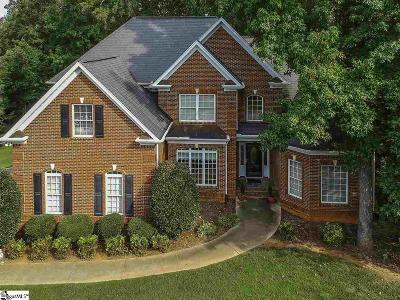 Simpsonville Single Family Home For Sale: 7 Habersham