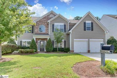 Simpsonville Single Family Home For Sale: 116 Heritage Point