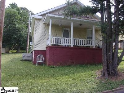 Easley Single Family Home For Sale: 116 Dunklin