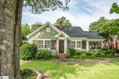 Greenville SC Single Family Home Contingency Contract: $495,000