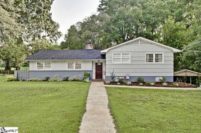 Greer Single Family Home For Sale: 768 Maple