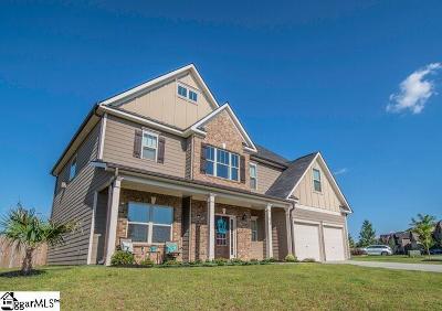 Simpsonville Single Family Home For Sale: 374 Bridge Crossing