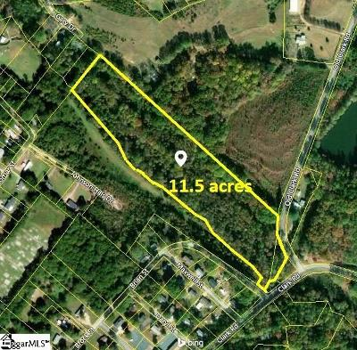 Inman Residential Lots & Land For Sale: 125 Old Clark