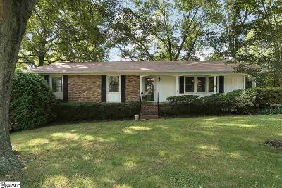 Greenville SC Single Family Home For Sale: $192,000