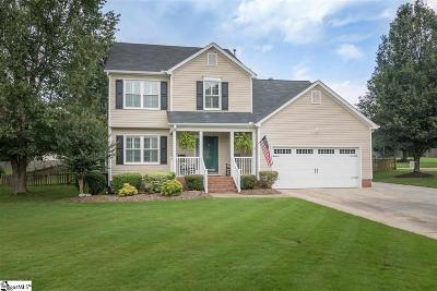 Greenville County Single Family Home For Sale: 10 Summer Hill