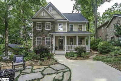 Greenville SC Single Family Home For Sale: $650,000