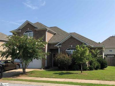 Taylors Single Family Home For Sale: 102 Roberts Hill