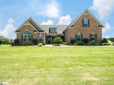 Simpsonville Single Family Home For Sale: 101 Red Bluff