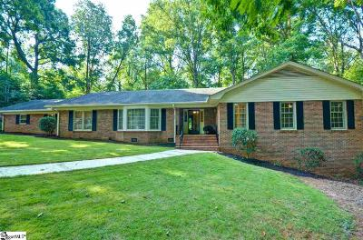 Greenville County Single Family Home For Sale: 156 Hathaway
