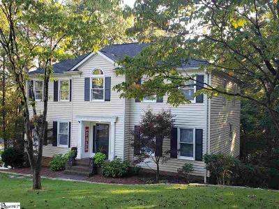 Easley Single Family Home For Sale: 101 Dover