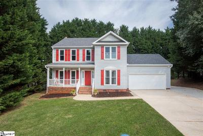 Greenville County Single Family Home For Sale: 5 Grey Beard