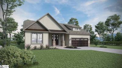 Single Family Home For Sale: 328 Hampton Farms #Lot 33