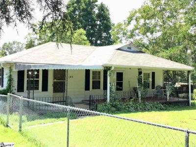 Greenville SC Single Family Home For Sale: $99,900