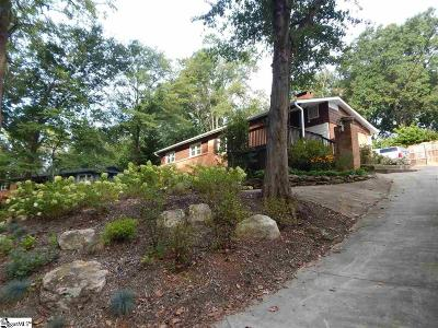 Greenville SC Single Family Home For Sale: $298,500