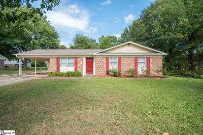 Piedmont Single Family Home For Sale: 120 Sheffield