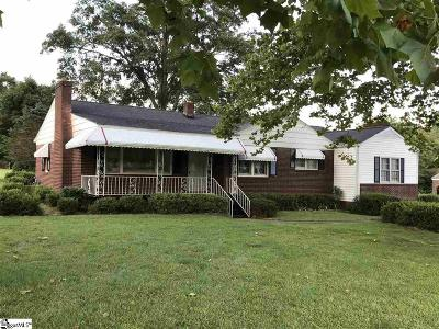 Greenville County Single Family Home For Sale: 2 Lakeview