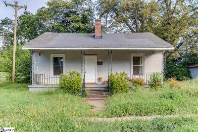 Greenville SC Single Family Home For Sale: $90,000