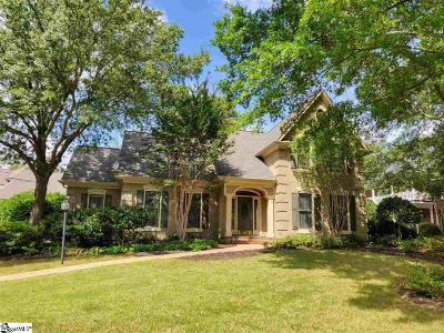 Greer Single Family Home For Sale: 102 Latour