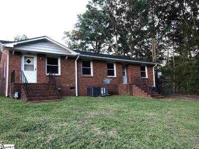 Greenville Multi Family Home For Sale: 102 Monaview