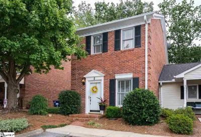 Greenville Condo/Townhouse For Sale: 2808 E North #Unit 4