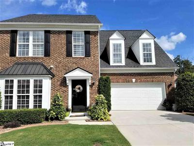 Simpsonville Condo/Townhouse For Sale: 107 Grayburn