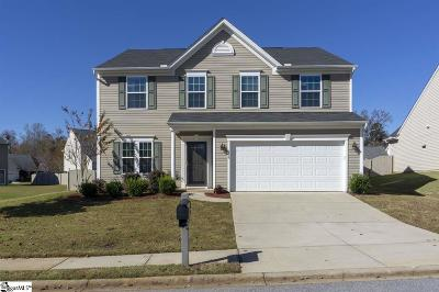 Simpsonville Single Family Home For Sale: 126 Young Harris