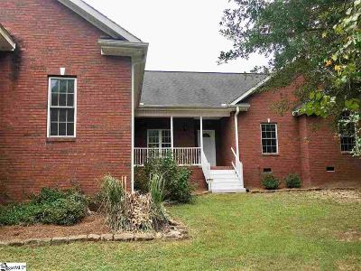 Greenville SC Single Family Home For Sale: $279,000