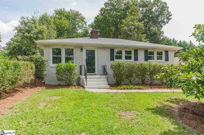 Taylors SC Single Family Home For Sale: $138,500