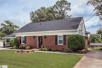Easley SC Single Family Home For Sale: $199,900