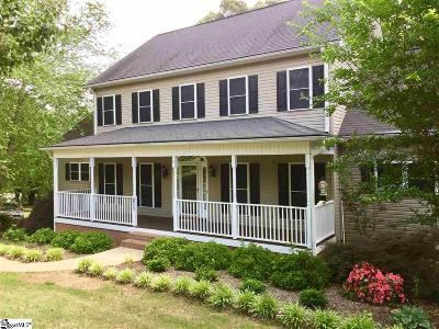 Easley SC Single Family Home For Sale: $315,000