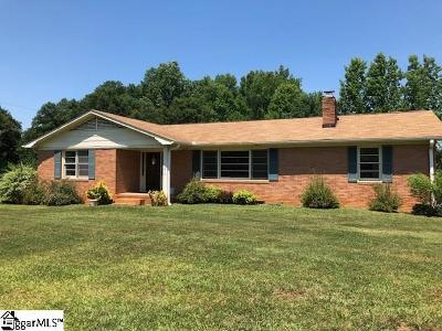 Greer Single Family Home For Sale: 1610 Gibbs Shoals