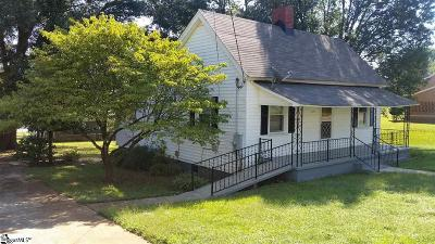 Pelzer Single Family Home For Sale: 113 Hampton